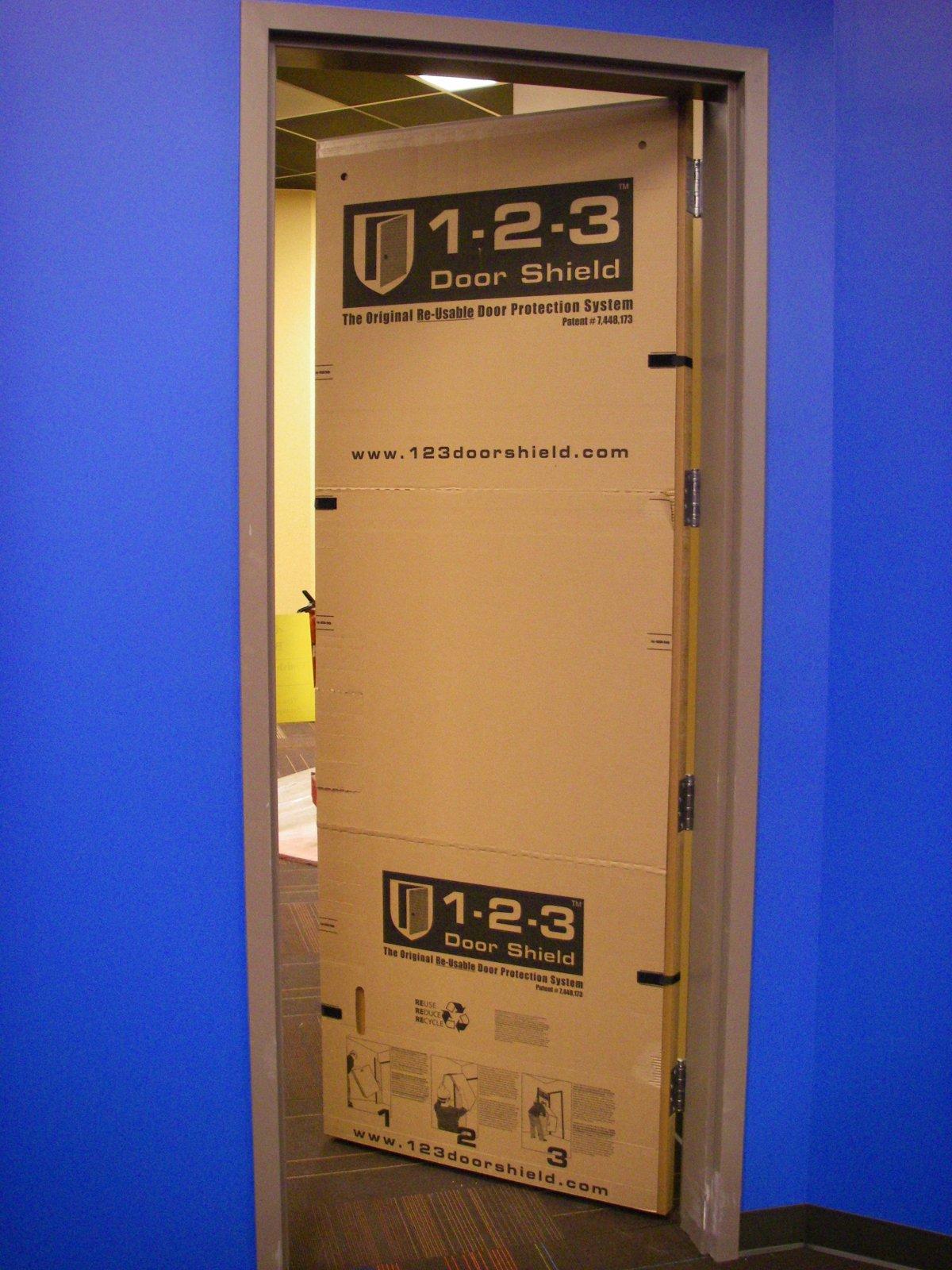2011 Jan Flatirons Church 09 & Temporary Door Scratch Protector u0026 Abrasion Protection | 1-2-3 Door ...