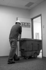 Cart Thru Door