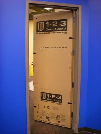 1-2-3 Door Shield - Door Protection System & 1-2-3 Door Shield | Re-Usable Door Protector u0026 Construction Protection pezcame.com