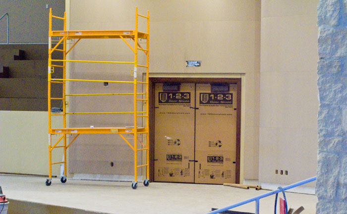 Door Protection Panles for Construction